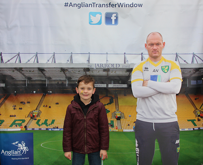 Lucas White in the Anglian Transfer Window