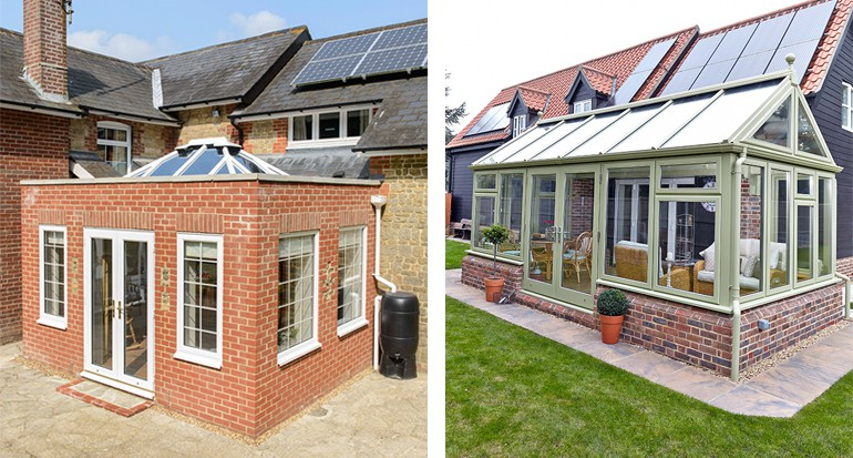 Whatu0027s The Difference Between Orangeries And Conservatories?
