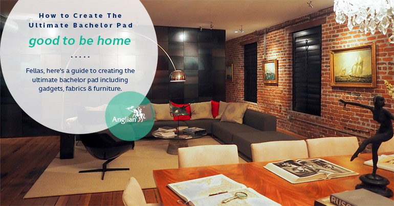 How To Create The Ultimate Bachelor Pad Good To Be Home