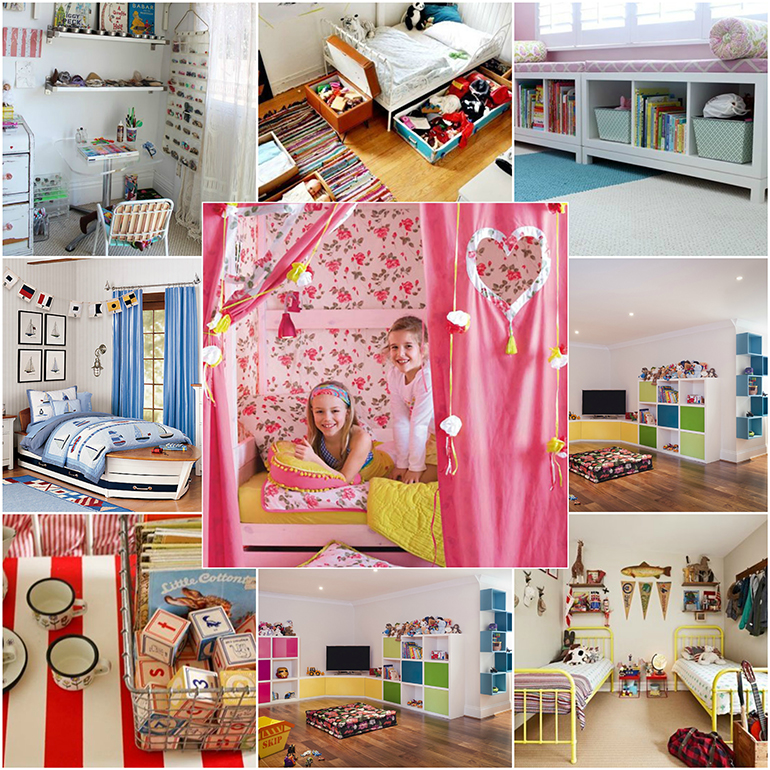 Themed childrens rooms