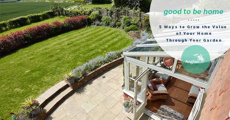 5 Ways You Can Grow the Value of Your Home Through Your Garden