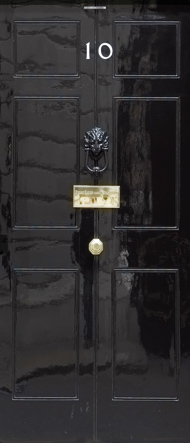 10 Downing Street door cover