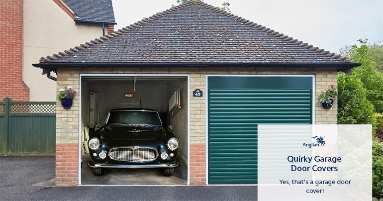 Garage Door Covers transform your boring garage door & have your neighbours staring
