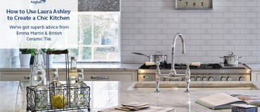 How to Use Laura Ashley to Create a Chic Kitchen