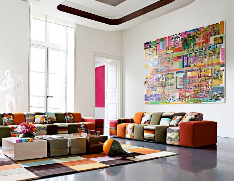 Like fashion, your interior design tends to reflect your personality