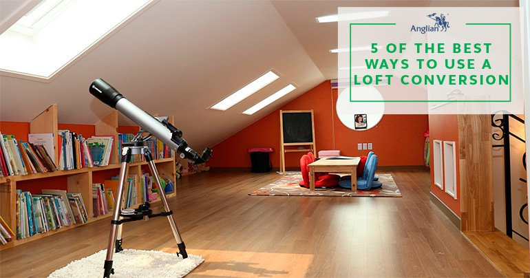 5 of the Best Ways to Use a Loft Conversion
