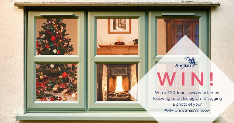 Win a £50 Voucher With Your #AHIChristmasWindow
