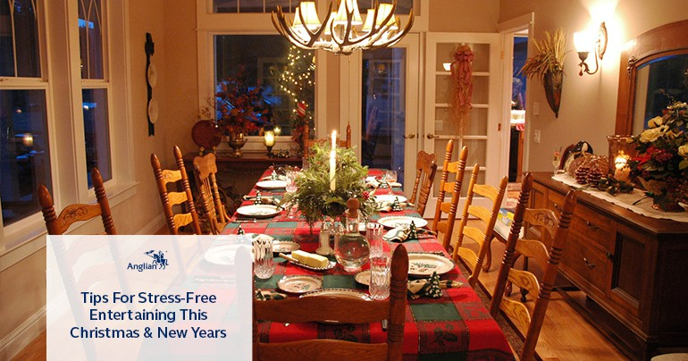 Tips for Stress-Free Entertaining at Christmas and New Year's Eve