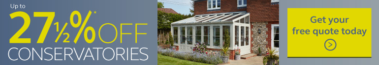 big discounts on Anglian conservatories, click here to find out more