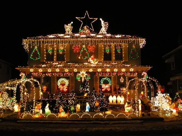 Amazing Christmas house decorations