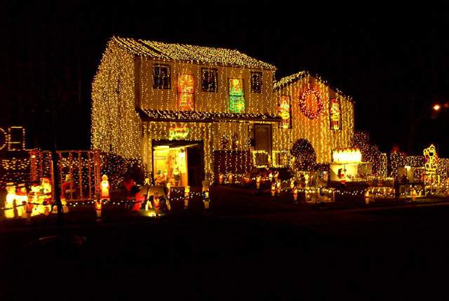 Light up the street with these Christmas decorations