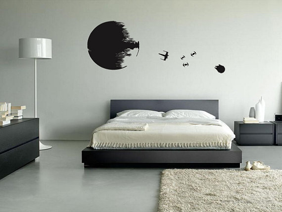 Grown up Star Wars room