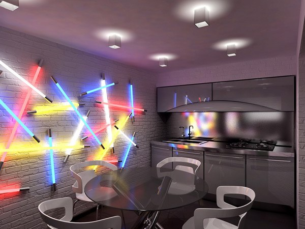 Relive the 80s geometric Star Wars room