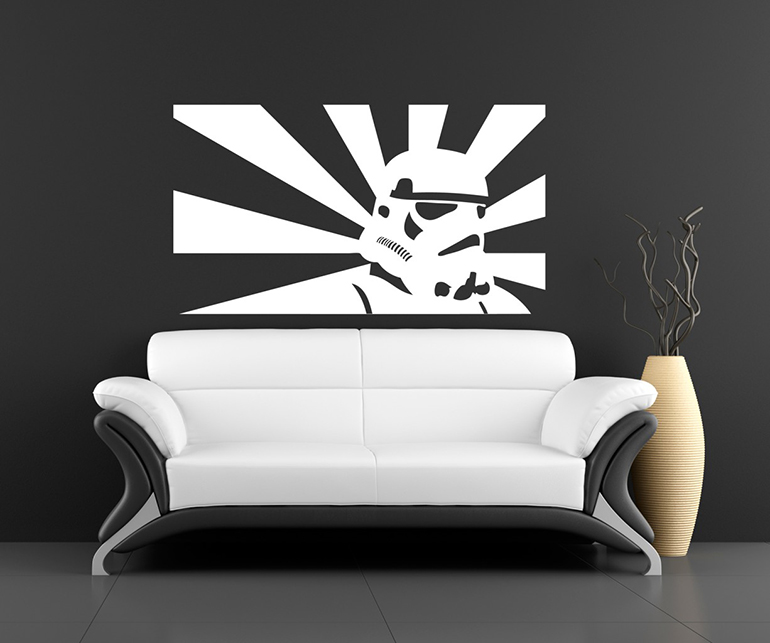 Star Wars imperial room