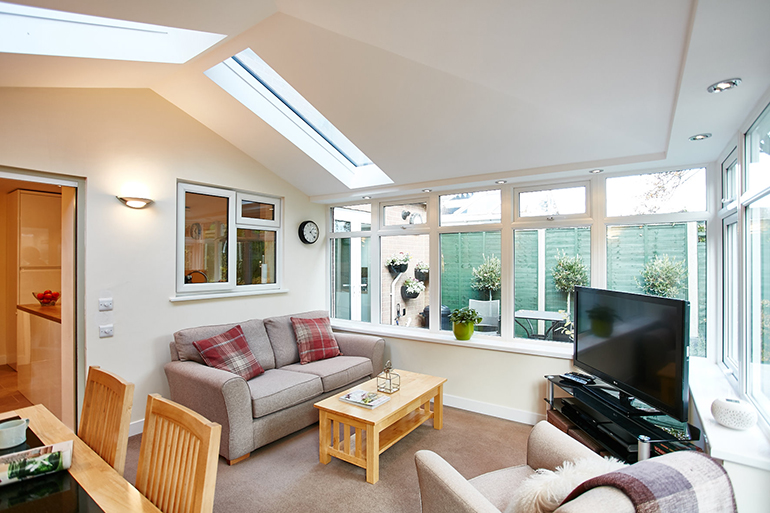Anglian contemporary roof