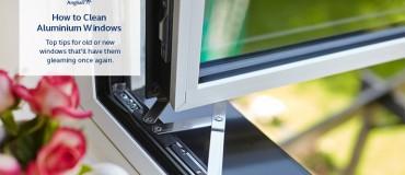 How to Clean Aluminium Windows