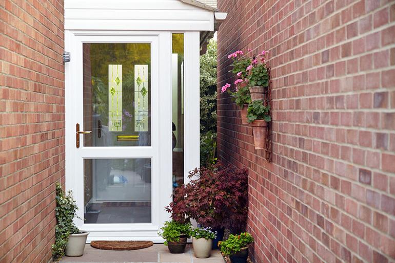 Glass Anglian door