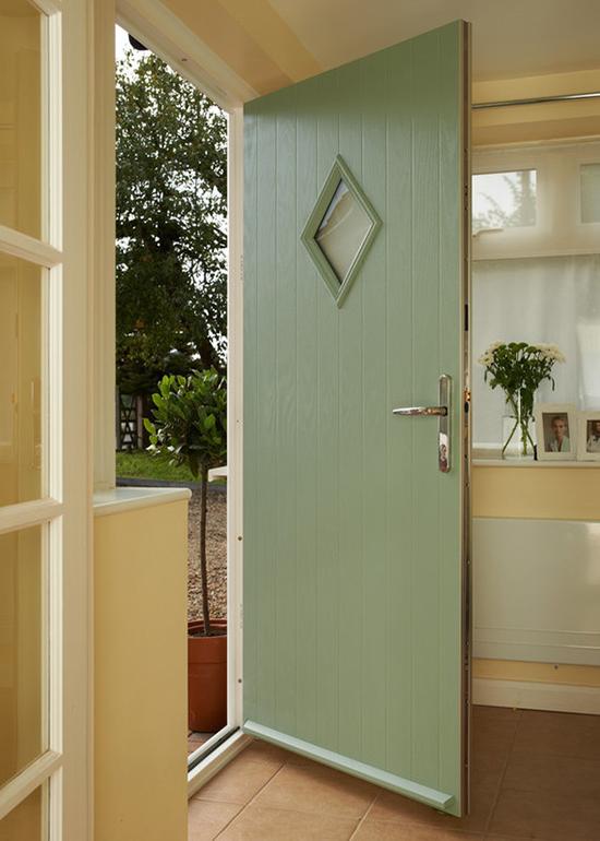 Green Anglian door