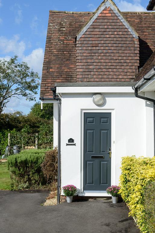Grey Anglian door