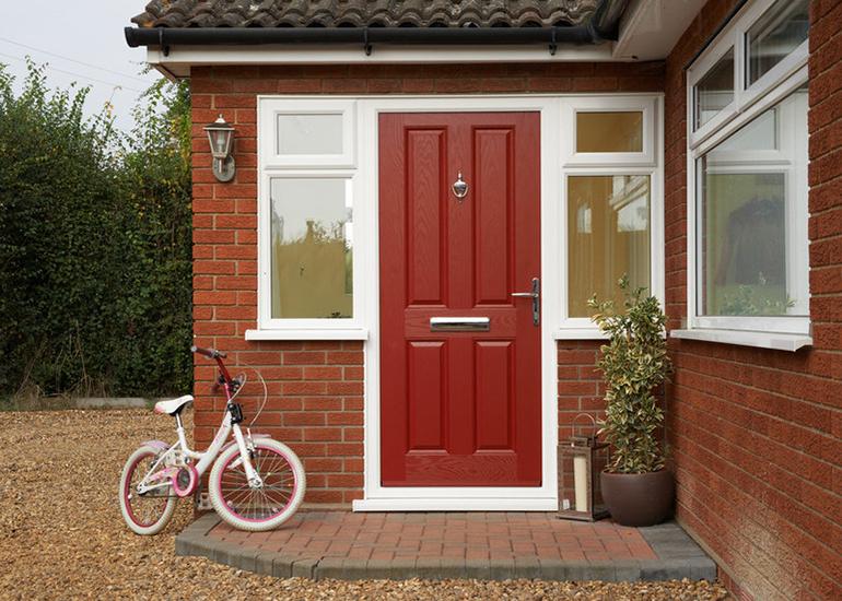 Red Anglian Door