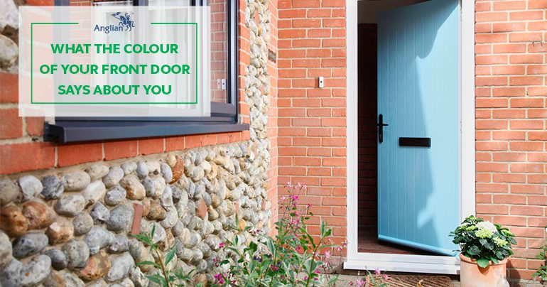 What the Colour of Your Front Door Says About You
