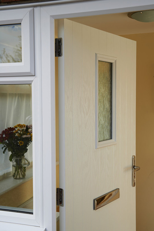 White Anglian door
