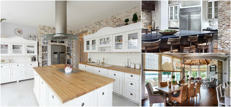 Tidy and clear kitchen design