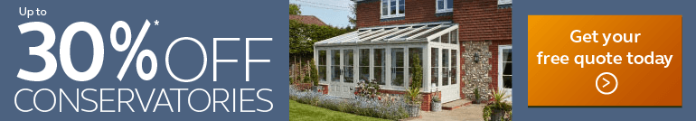 big savings on Anglian conservatories, click here to find out more