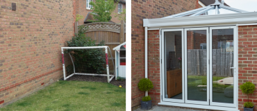 #ProjectSpotlight: Orangery with bi-fold doors