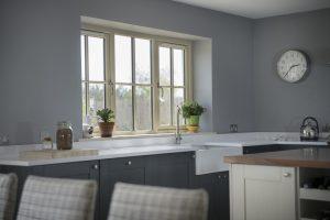 Timber kitchen window