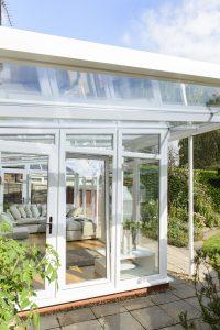 Veranda conservatory side