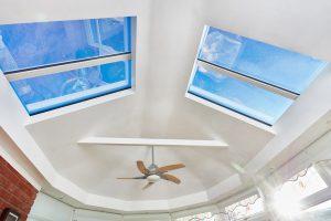 Interior roof panels