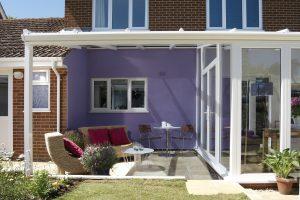 Conservatory veranda exterior