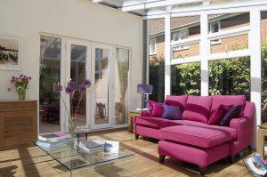 Conservatory veranda interior