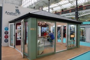 Anglian exhibit at the Ideal Home Show