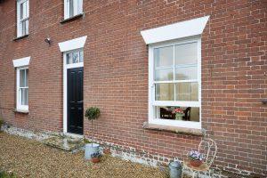 Elite sliding sash windows exterior