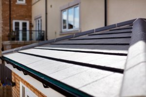 #ProjectSpotlight - Solid tiled roof close-up