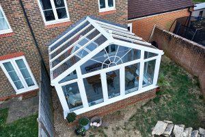 Regency conservatory above