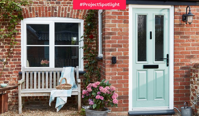 #ProjectSpotlight: Holiday cottage windows and door