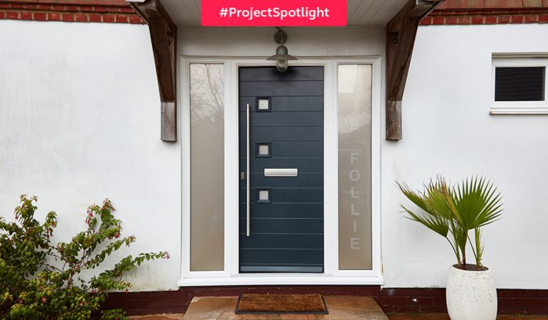 #ProjectSpotlight: The modern front door
