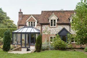 Edwardian conservatory exterior