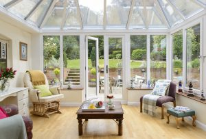 Edwardian conservatory interior