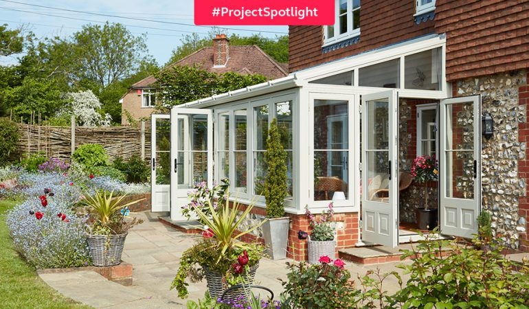 #ProjectSpotlight: Timber conservatory