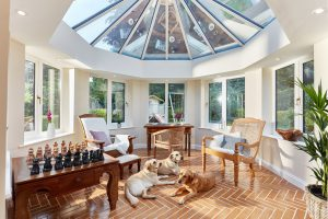 #ProjectSpotlight orangery interior