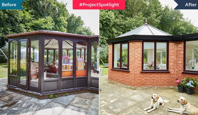 #ProjectSpotlight: Light-filled orangery