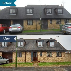 #ProjectSpotlight before and after