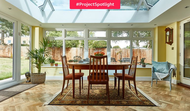 #ProjectSpotlight: Modern orangery