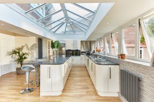 #ProjectSpotlight kitchen orangery interior