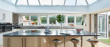 #ProjectSpotlight: Ultra-stylish kitchen orangery