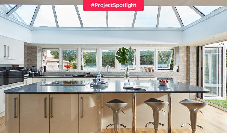 #ProjectSpotlight: Ultra-stylish kitchen orangery